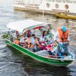Il santo in barca
