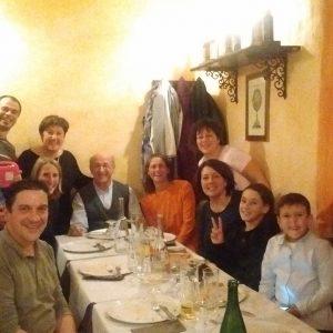 Cena di gruppo a Genova