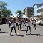 Esibizione di samba